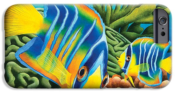 Juveniles iPhone Cases - Juvenile Queen Angel iPhone Case by Carolyn Steele