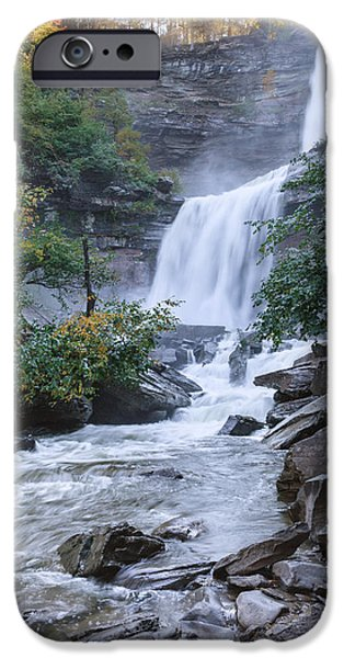 Upstate New York iPhone Cases - Kaaterskill Falls iPhone Case by Bill  Wakeley