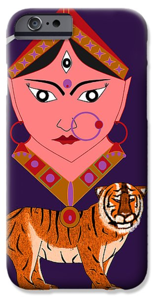 Kaatyayani iPhone Case by Pratyasha Nithin