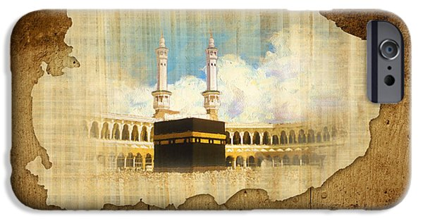 Jordan iPhone Cases - Kabah iPhone Case by Catf