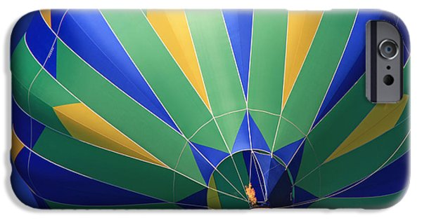 Hot Air Balloon iPhone Cases - Kachina iPhone Case by Donna Kennedy