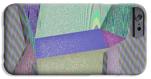 Abstract Digital Art iPhone Cases - Kailua iPhone Case by Gareth Lewis