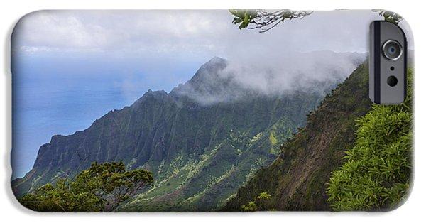 Limited Edition iPhone Cases - Kalalau Valley 5 - Kauai Hawaii iPhone Case by Brian Harig