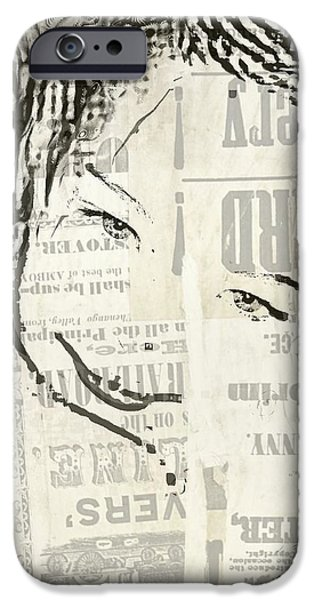 Etc. Mixed Media iPhone Cases - Kam iPhone Case by HollyWood Creation By linda zanini