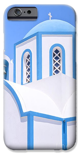 House iPhone Cases - Kamari Church 22 iPhone Case by Antony McAulay