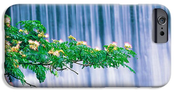 Kyoto iPhone Cases - Kamo River Kyoto Japan iPhone Case by Panoramic Images