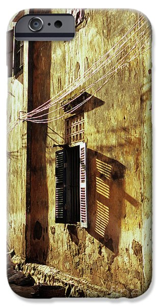 Kampot Lane iPhone Case by Rick Piper Photography