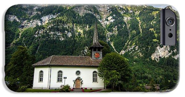 Reform iPhone Cases - Kandergrund Church - Switzerland iPhone Case by Gary Whitton