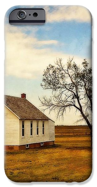 Kansas Church iPhone Case by Marty Koch