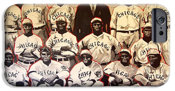 Negro Paintings iPhone Cases - Chicago American iPhone Case by Paul Guyer