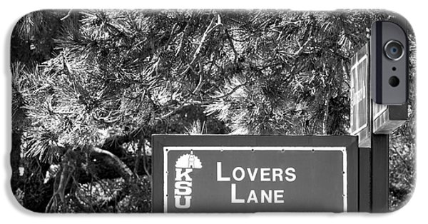 Special Occasion iPhone Cases - Kansas State University Lovers Lane iPhone Case by University Icons