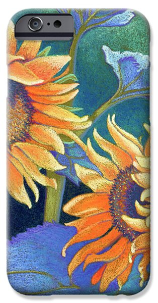 States Pastels iPhone Cases - Kansas Suns iPhone Case by Tracy L Teeter