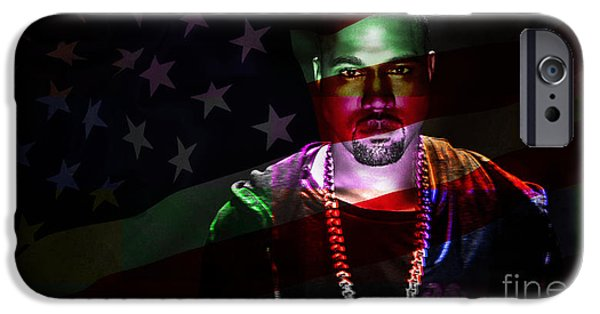 Kanye West iPhone Cases - Kanye West iPhone Case by Marvin Blaine
