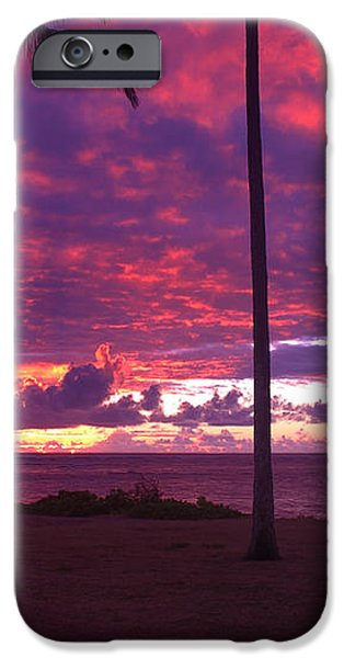 Kapaa Kauai Sunrise iPhone Case by Brian Harig