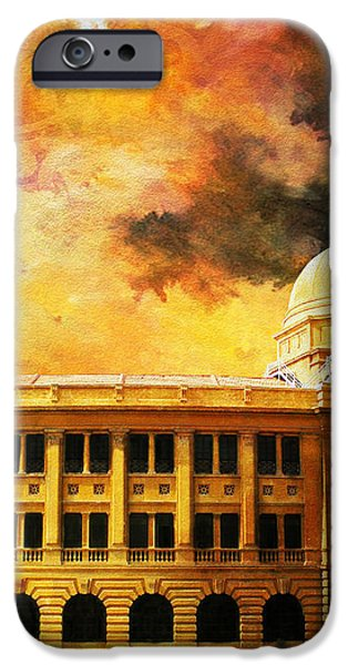 Karachi Port iPhone Case by Catf