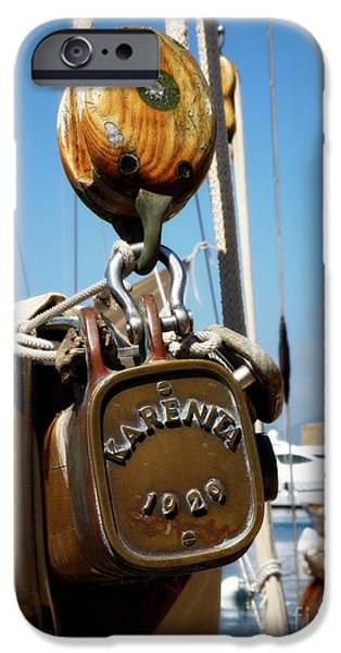 Karenita 1929 iPhone Case by Lainie Wrightson