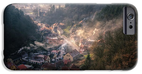 Building iPhone Cases - Karlstejn iPhone Case by Joan Carroll