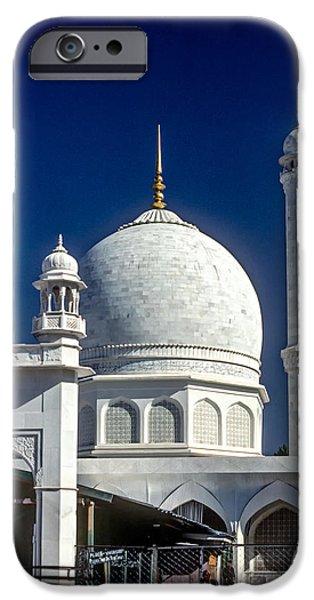 Vale iPhone Cases - Kashmir Mosque iPhone Case by Steve Harrington