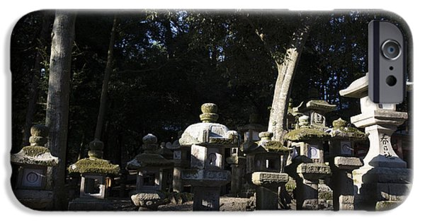 Nara iPhone Cases - Kasuga Grand Shrine iPhone Case by David Bearden