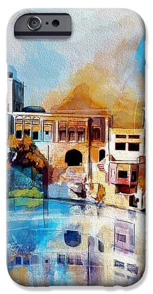 Katas Raj Temple iPhone Case by Catf