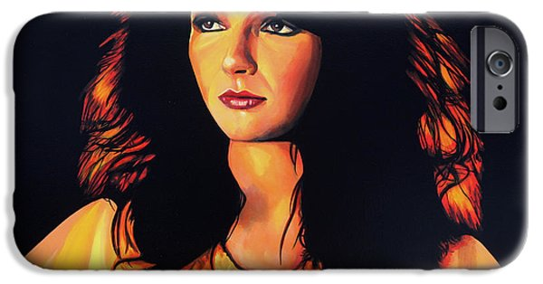 Hound iPhone Cases - Kate Bush iPhone Case by Paul  Meijering