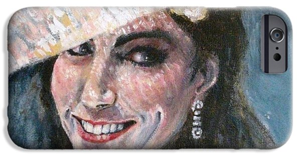 Kate Middleton iPhone Cases - Kate Middleton iPhone Case by Yvonne  Taylor