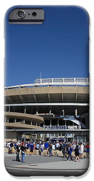 Kauffman Stadium - Kansas City Royals iPhone Case by Frank Romeo