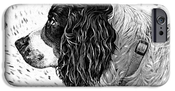 Puppy Digital Art iPhone Cases - Kaya wood carving filter iPhone Case by Steve Harrington