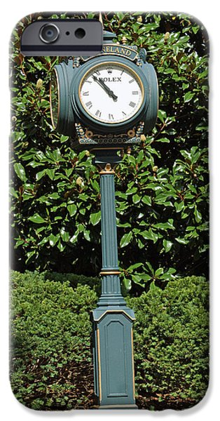 Keeneland iPhone Cases - Keeneland Rolex iPhone Case by Roger Potts