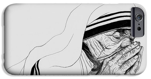 Wave Art iPhone Cases - Keep the Faith iPhone Case by Wave