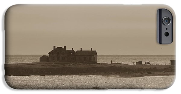 Ano Nuevo iPhone Cases - Keepers House iPhone Case by John Carey