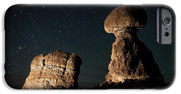 Night Photography iPhone Cases - Keepers of the Night iPhone Case by Darren  White