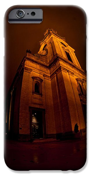 St John The Evangelist iPhone Cases - Keeping out the Darkness iPhone Case by Tim Gumz