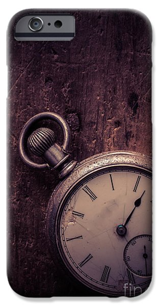 Fragment iPhone Cases - Keeping Time iPhone Case by Edward Fielding