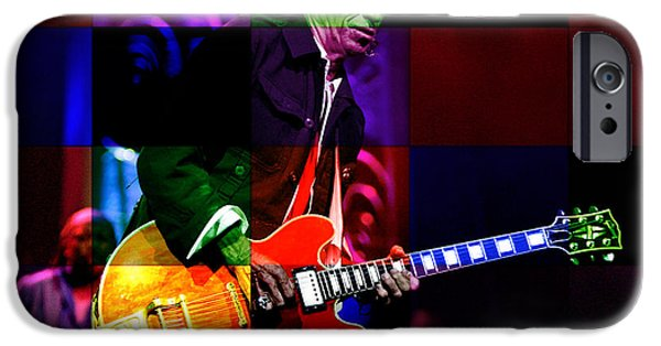 Keith Richards iPhone Cases - Keith Richards iPhone Case by Marvin Blaine