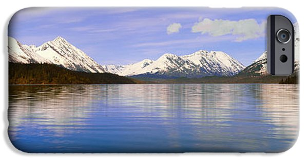 Frigid iPhone Cases - Kenai Lake, Kenai Peninsula, Alaska iPhone Case by Panoramic Images