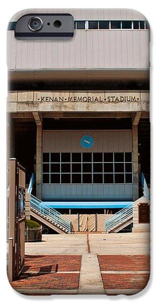 Kenan Memorial Stadium - Gate 6 iPhone Case by Paulette B Wright