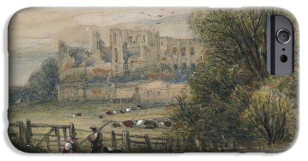 Fence Drawings iPhone Cases - Kenilworth iPhone Case by James Orrock