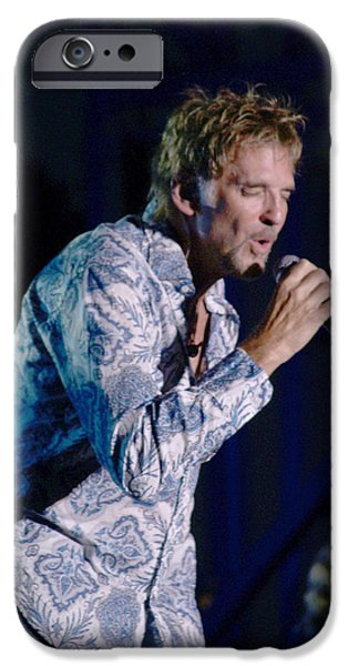 Bill Gallagher iPhone Cases - Kenny Loggins II iPhone Case by Bill Gallagher