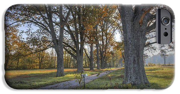 Daviess County Photographs iPhone Cases - Kentucky Country Driveway iPhone Case by Wendell Thompson