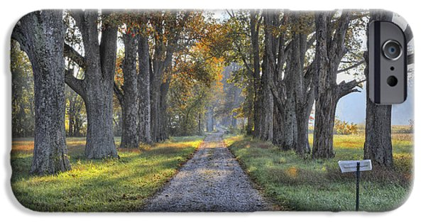 Daviess County Photographs iPhone Cases - Kentucky Country Lane iPhone Case by Wendell Thompson