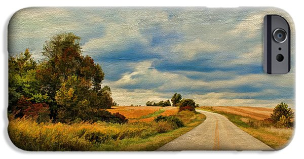 Asphalt iPhone Cases - Kentucky Highways iPhone Case by Darren Fisher