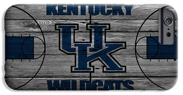 Division iPhone Cases - Kentucky Wildcats iPhone Case by Joe Hamilton