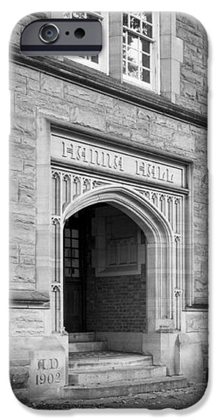 Kenyon College Hanna Hall iPhone Case by University Icons