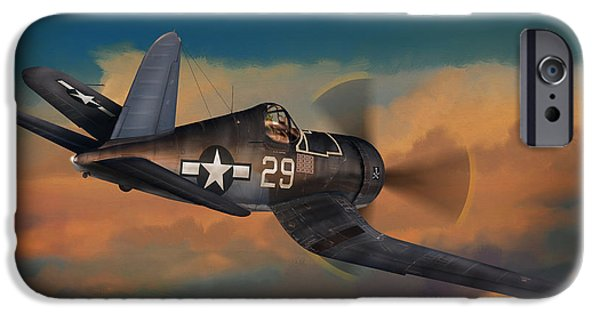 Usn iPhone Cases - Kepford on Patrol iPhone Case by Dale Jackson