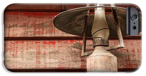 Recently Sold -  - Antiques iPhone Cases - Kerosene Lantern iPhone Case by Carlos Caetano