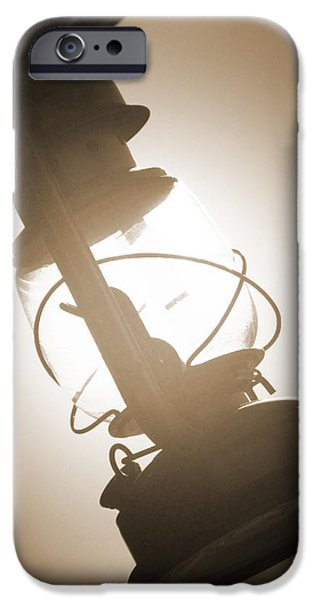 Kerosene Lantern iPhone Case by Mike McGlothlen