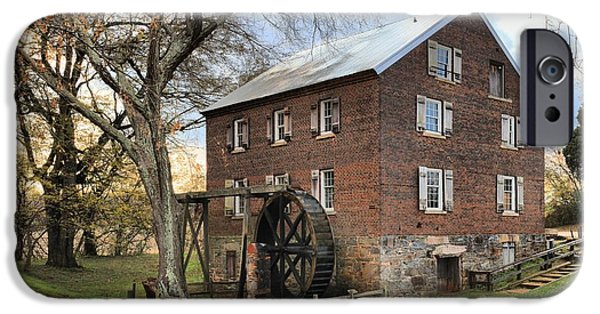 Grist Mill iPhone Cases - Kerr Grist Mill iPhone Case by Adam Jewell