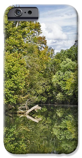 Grist Mill iPhone Cases - Ketners Mill 5 iPhone Case by Tina Cannon