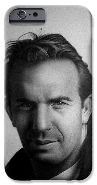 Celebrity iPhone Cases - Kevin Costner iPhone Case by Miro Gradinscak